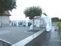 Hochzeits Zelte in diverse Grössen zu vermieten.