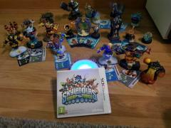 Nintendo 3ds Spiel(Skylander)mit verschiedenen Figuren