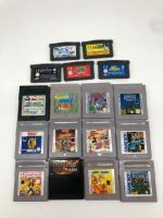 Gameboy Spiele; Lucky Luke, Pokemon Dungeon, Ninja Turtles
