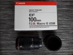 Canon EF 100mm f/2.8L Macro IS USM - Gebraucht